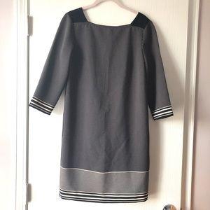 Polka Dots + Stripes Shift Dress